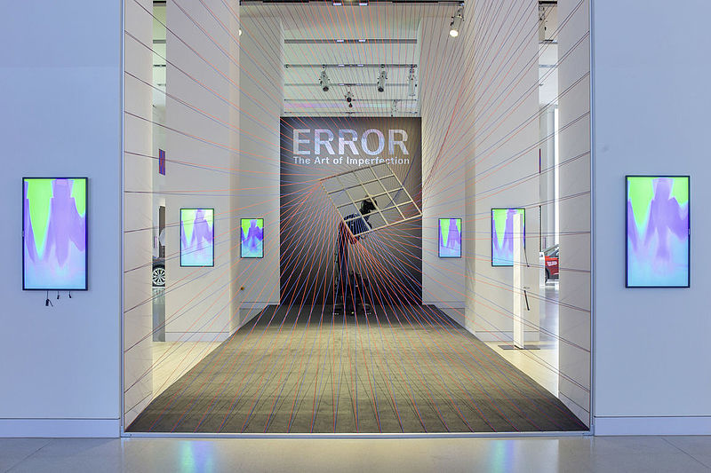"ARS ELECTRONICA zeigt Ausstellung ""ERROR - The Art of Imperfection"" im DRIVE. Volkswagen Group Forum Berlin"